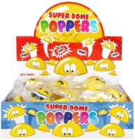 Wholesalers of Poppers Poppers Smile Face 4.5cm Yellow toys image 2