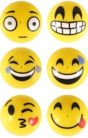 Wholesalers of Poppers Poppers Smile Face 4.5cm Yellow toys image 3