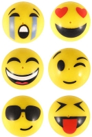 Wholesalers of Poppers Poppers Smile Face 4.5cm Yellow toys image
