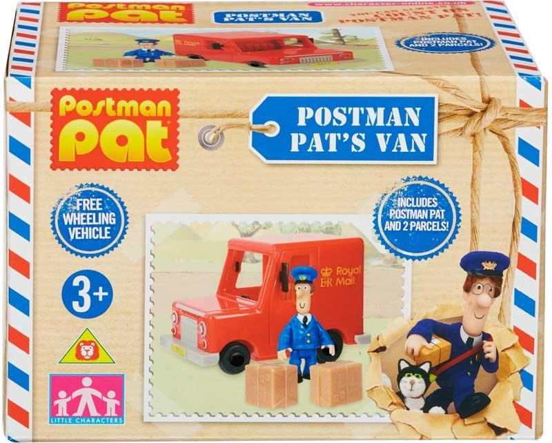 Wholesalers of Postman Pat Royal Mail Van Solid toys