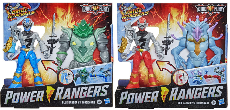 Wholesalers of Power Rangers  Dnf Battle Attacker 2 Pack Ast toys