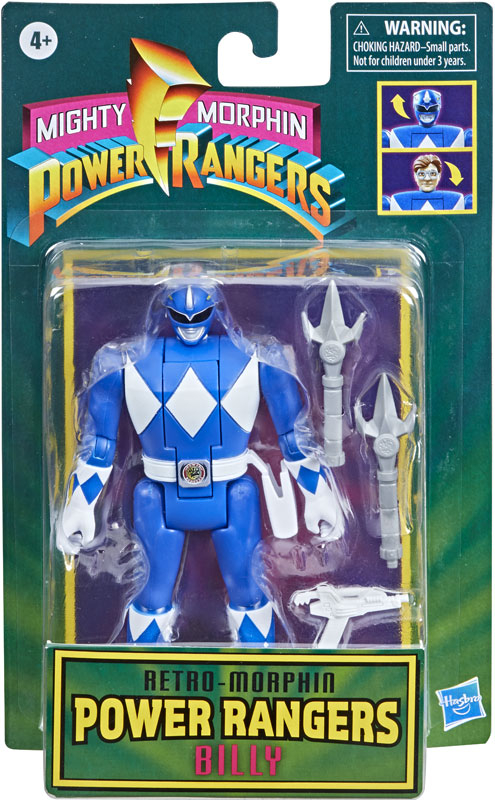 Wholesalers of Power Rangers  Retro Morph Blue Ranger toys