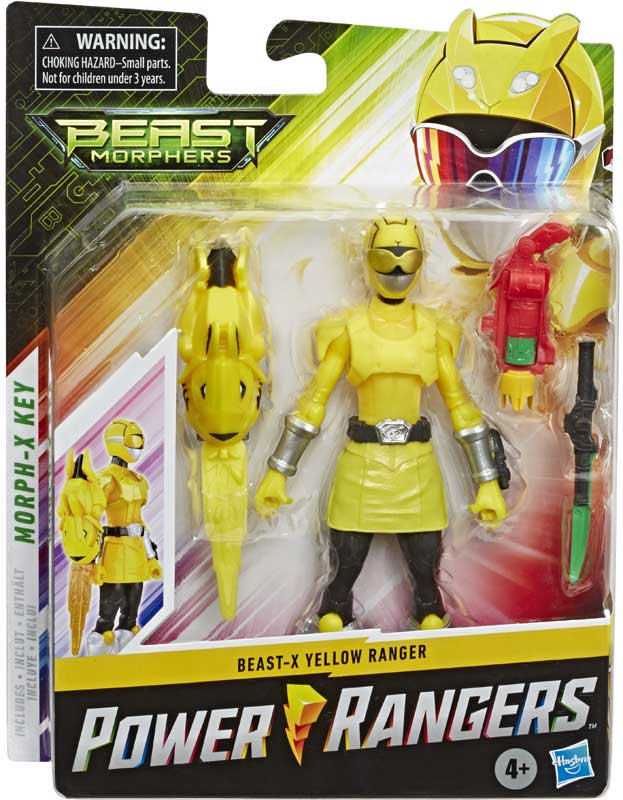 Wholesalers of Power Rangers 6in Bmr Yellow Ranger Beast X Mode toys