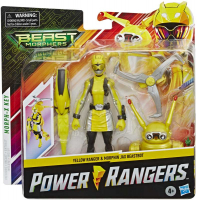 Wholesalers of Power Rangers 6in Bmr Ylw Ranger Jax Bb Pack toys image