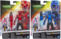Wholesalers of Power Rangers Basic 6 In Figures Ast toys image