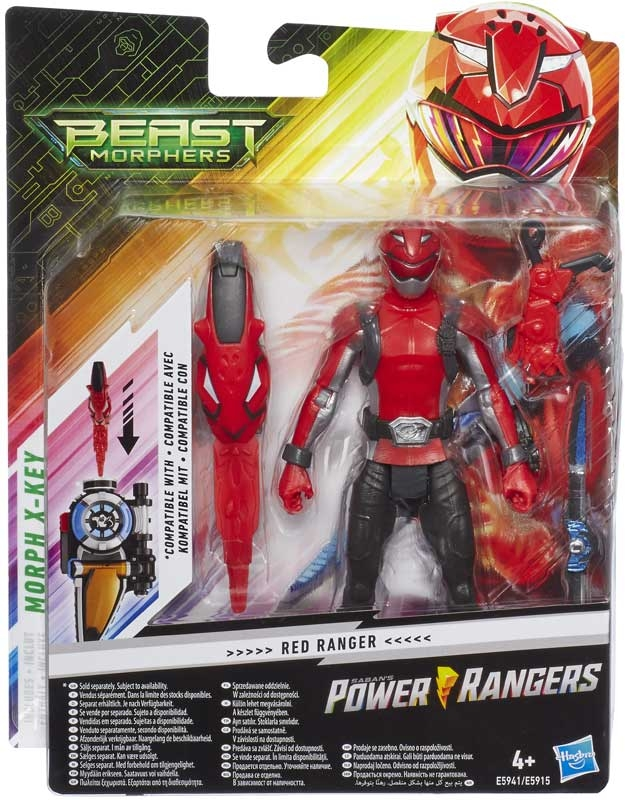 Wholesalers of Power Rangers Basic 6 In Figures toys