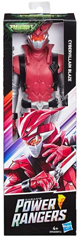 "Power Rangers Beast Morphers 12/"" Beast-X Red Ranger Action Figure Toy"