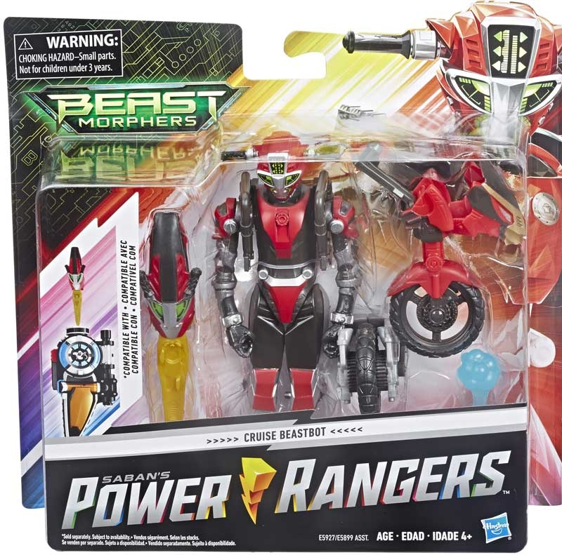 Wholesalers of Power Rangers Beast Morphers Cruise Red Beastbot toys
