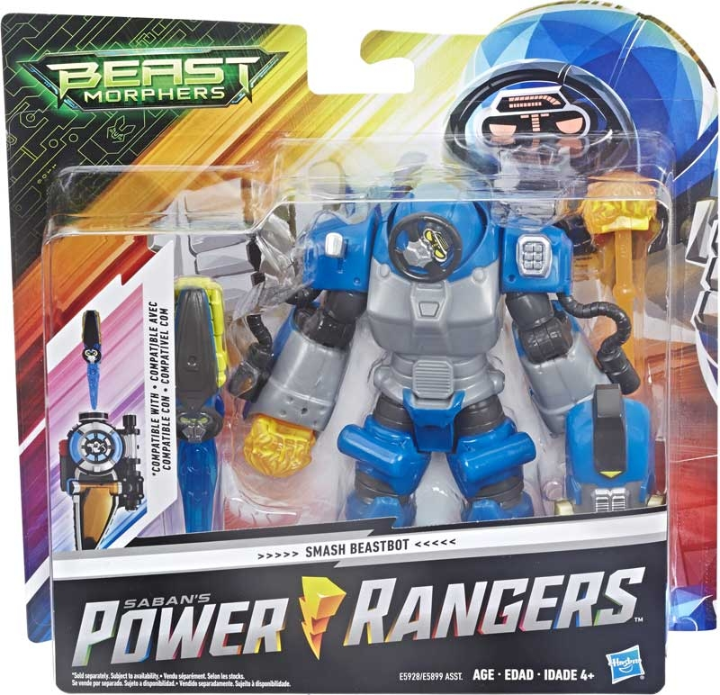 Wholesalers of Power Rangers Beast Morphers Smash Beastbot toys