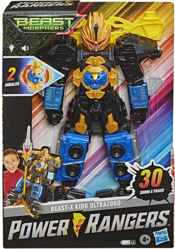 Wholesalers of Power Rangers Bmr 125in Beast-x King Ultrazord toys