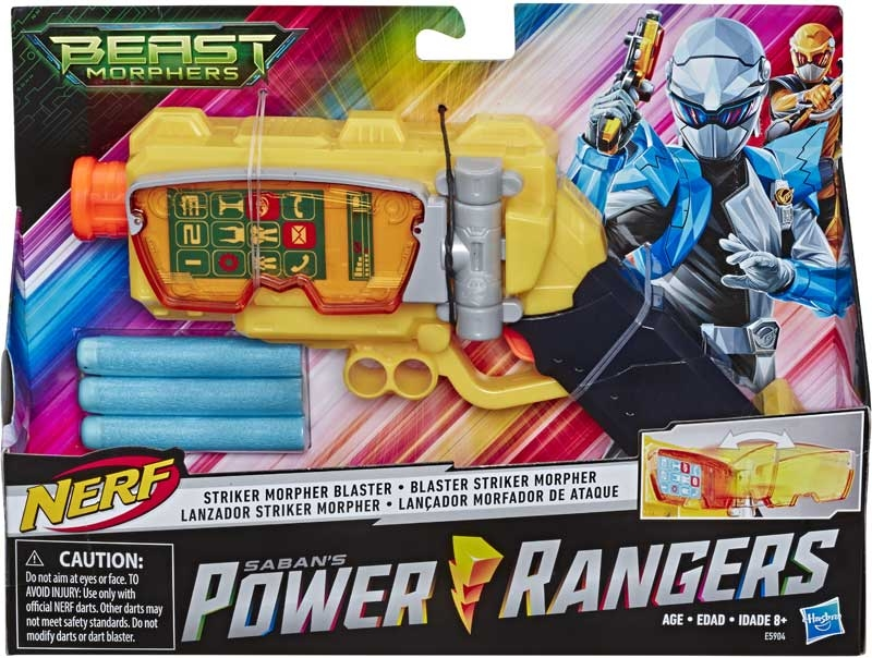 Wholesalers of Power Rangers Bmr Striker Morpher Blaster toys
