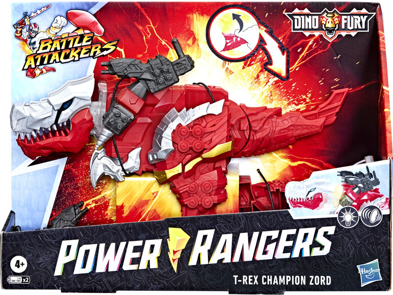 Wholesalers of Power Rangers Dnf Battle Attackers Red Zord toys