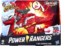 Wholesalers of Power Rangers Dnf Battle Attackers Red Zord toys image