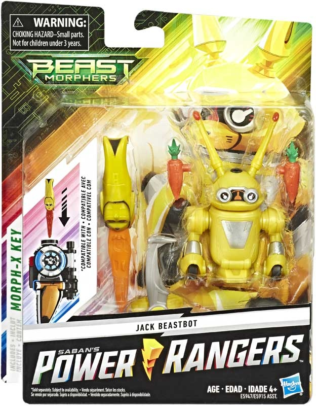 Wholesalers of Power Rangers Jack Beast Bot 6in Figure toys