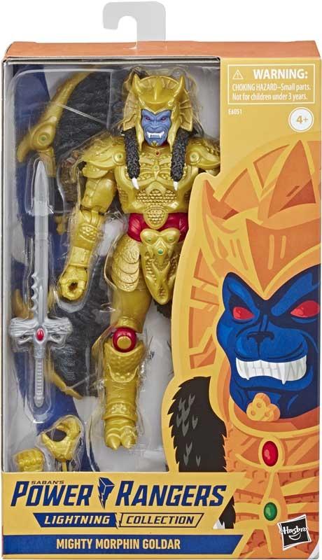 Wholesalers of Power Rangers Lc 6in Mmpr Goldar Figure toys
