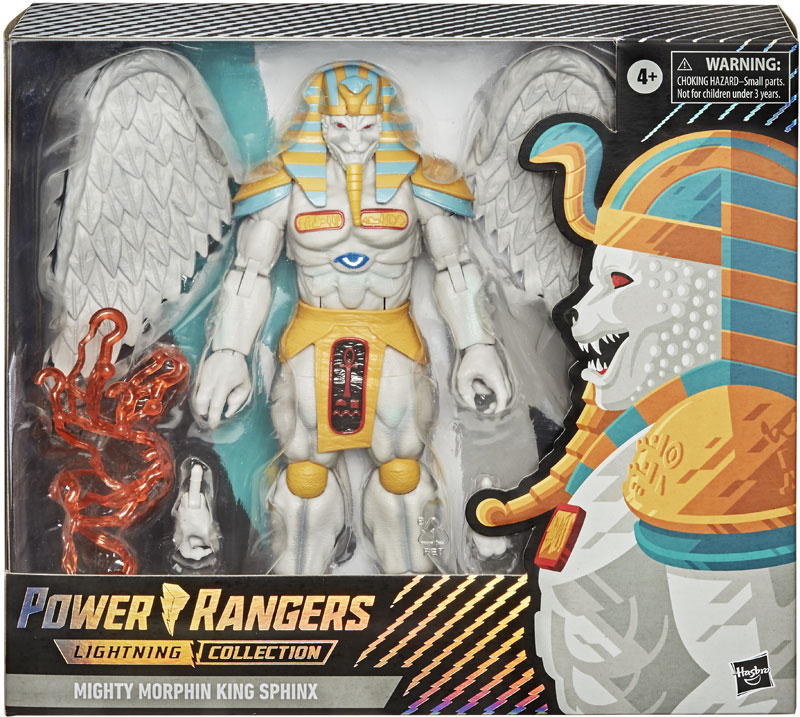 Wholesalers of Power Rangers Lc King Sphinx toys