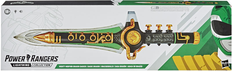 Wholesalers of Power Rangers Lc Mmpr Dragon Dagger toys