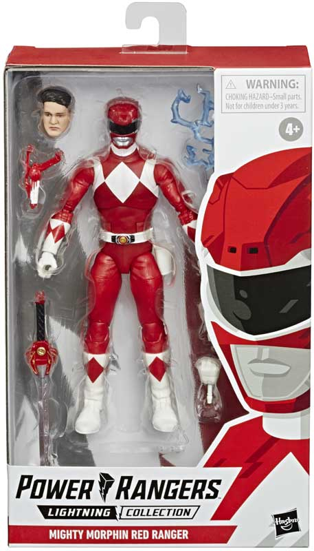 Wholesalers of Power Rangers Lc Mmpr Red Ranger 6in Figure toys