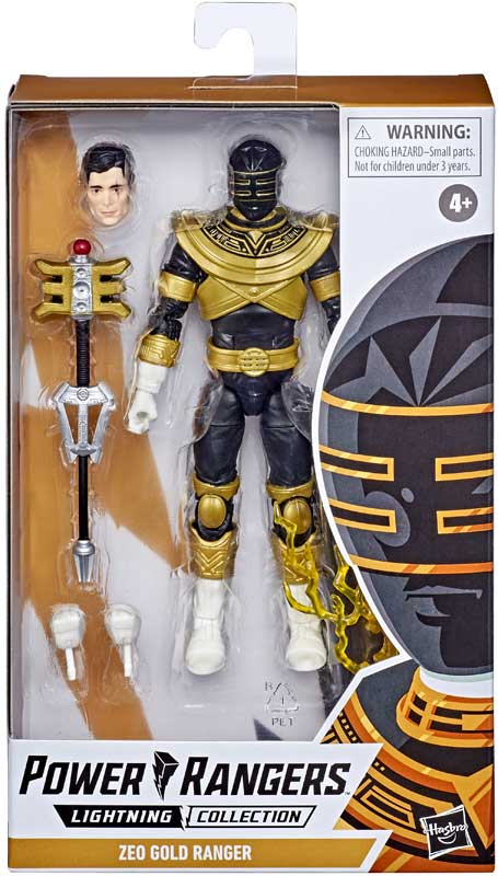 Wholesalers of Power Rangers Lc Zeo Gold Ranger 6in Figure toys