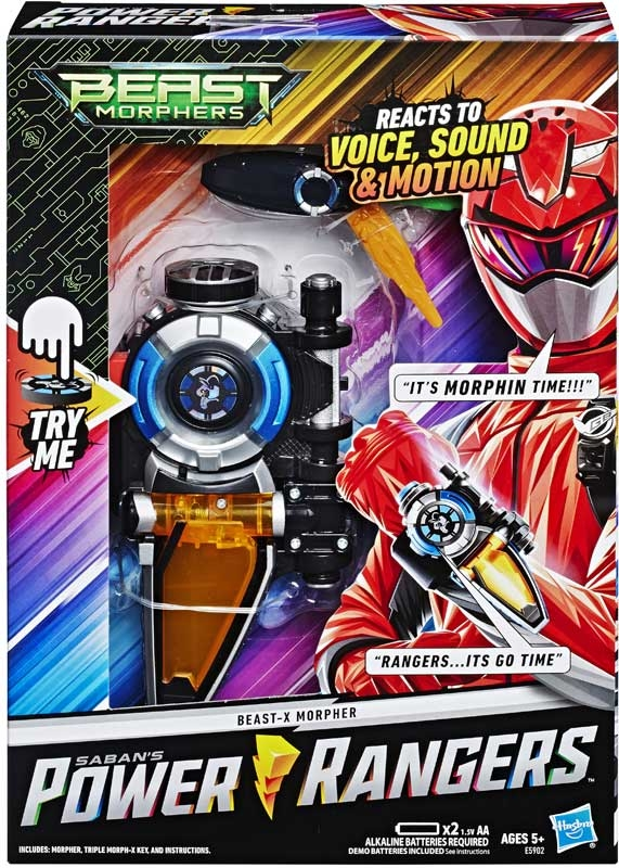 Wholesalers of Power Rangers Morpher toys