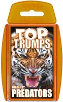 Wholesalers of Top Trumps - Predators toys image