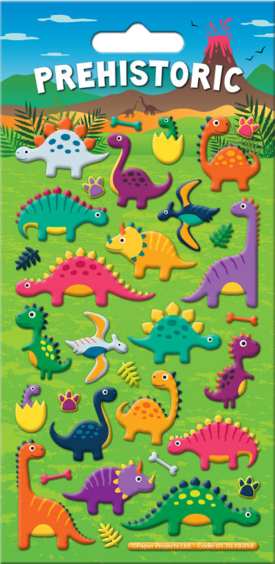 Wholesalers of Prehistoric Stickers toys