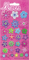 Wholesalers of Pretty Flowers Sparkle Stickers toys image