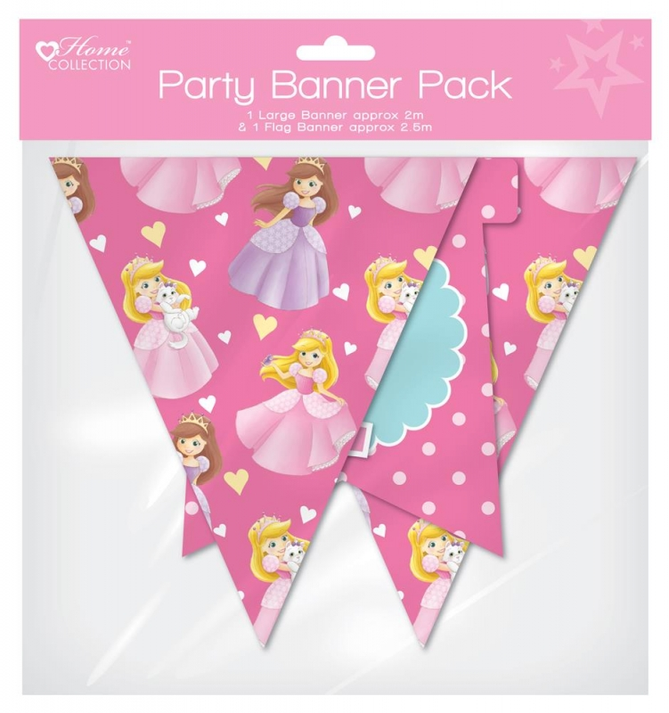 Wholesalers of Princess Party - Banner Pack toys