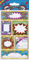 Wholesalers of Property Labels  Sparkle Stickers toys image