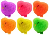 Wholesalers of Puffer Chicken With Light 7cm 6 Asst Cols toys image