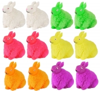 Wholesalers of Puffer Rabbit With Light 13cm 6 Asst Cols toys image