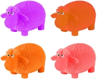 Wholesalers of Puffer Sheep Withlight 10cm 6 Asst Cols toys image