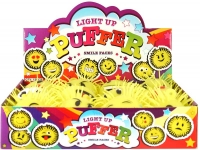 Wholesalers of Puffer Smile Face With Light 12 Asst Design toys image