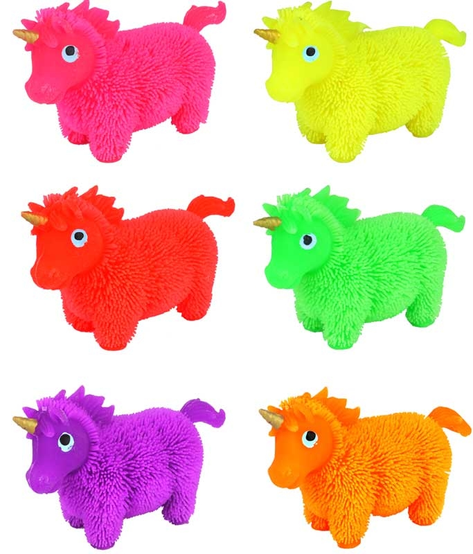 Wholesalers of Puffer Unicorn 8cm Asst toys