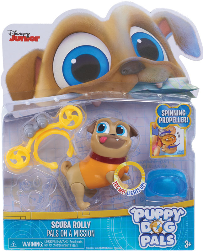 Wholesalers of Puppy Dog Pals Light Up Pals - Rolly With Scuba toys