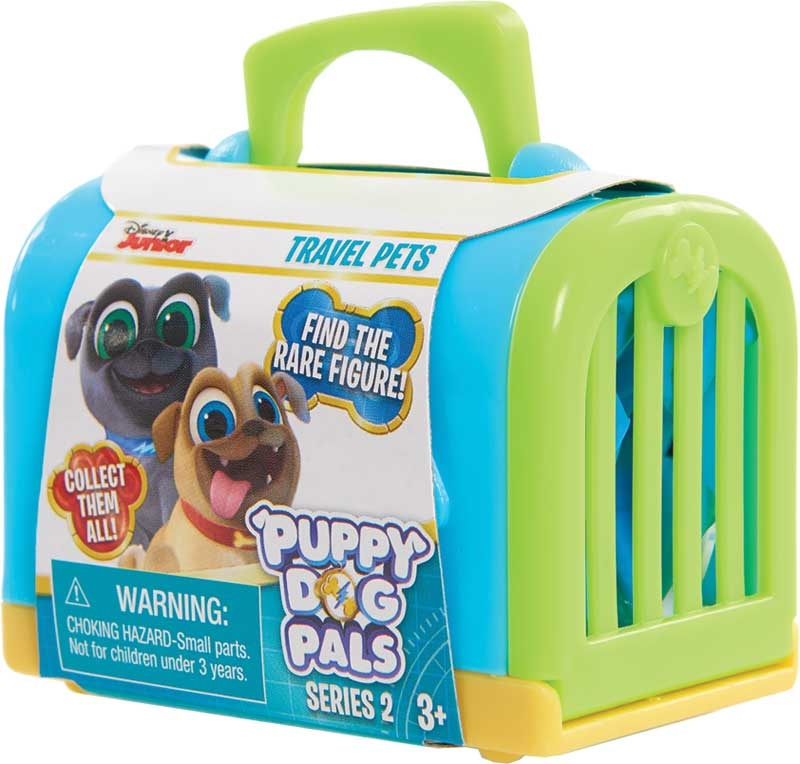 Puppy Dog Pals Travel Pets Figure And Carrier Asst Wholesale