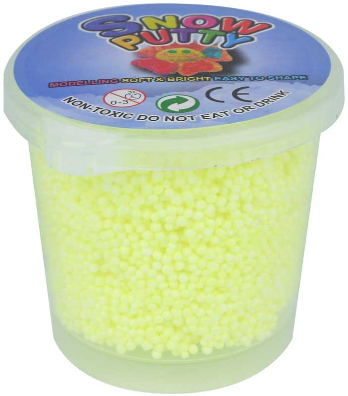 Wholesalers of Putty Bouncing Snow Tub 6 X 7cm 4 Asst Cols toys