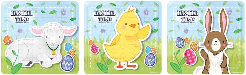 Wholesalers of Puzzle Easter 13cm X 12cm toys