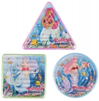 Wholesalers of Puzzle Maze Mermaids 3 Asst Shapes toys image