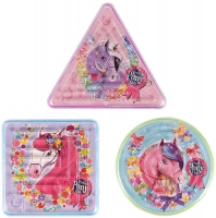 Wholesalers of Puzzle Maze Ponies 3 Asst Shapes toys image