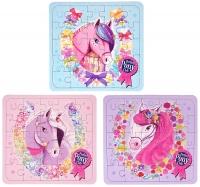 Wholesalers of Puzzle Ponies 13cm X 12cm 3 Asst toys image