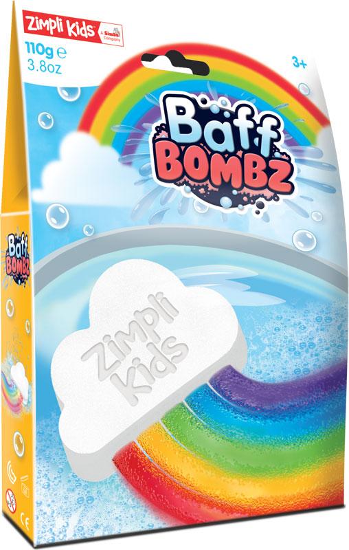 Wholesalers of Rainbow Baff Bombz - 110g toys