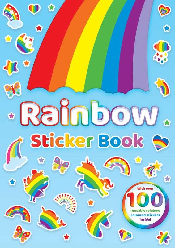 Wholesalers of Rainbow Sticker Book toys