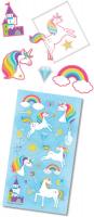 Wholesalers of Rainbow Unicorns Mega Pack Stickers toys image 2