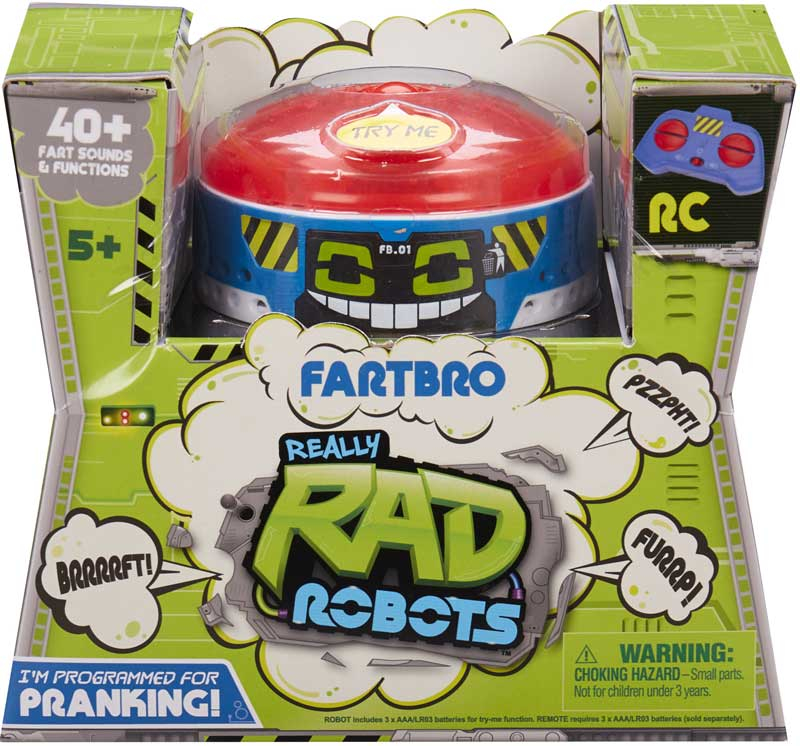 Wholesalers of Really Rad Robots Fartbro toys