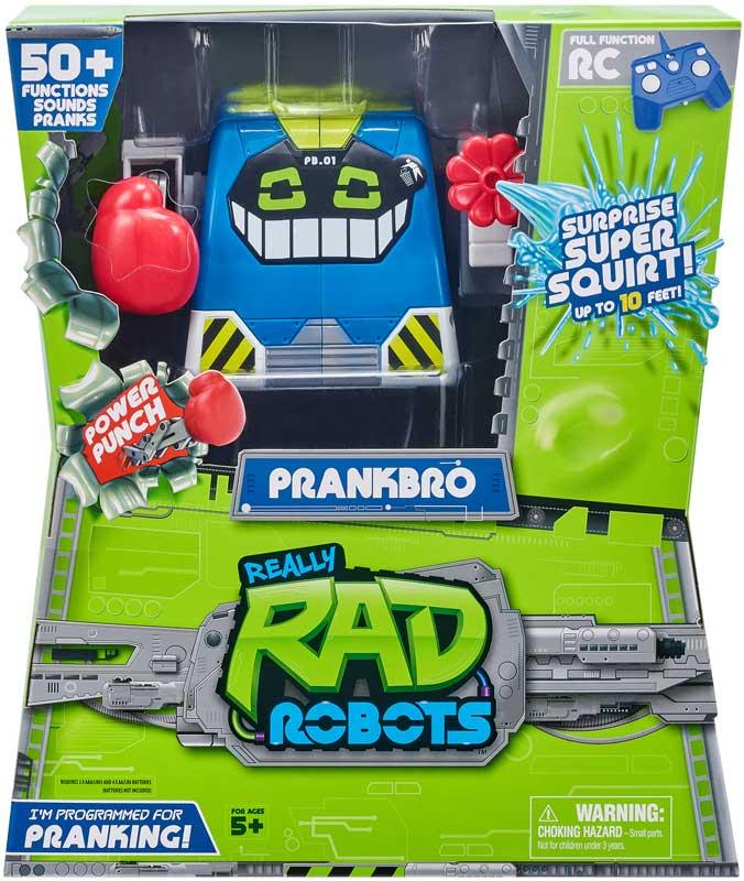 Wholesalers of Really Rad Robots Prank Bot toys
