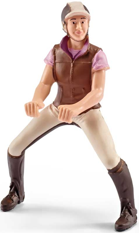 Wholesalers of Schleich Recreational Rider, Pink toys