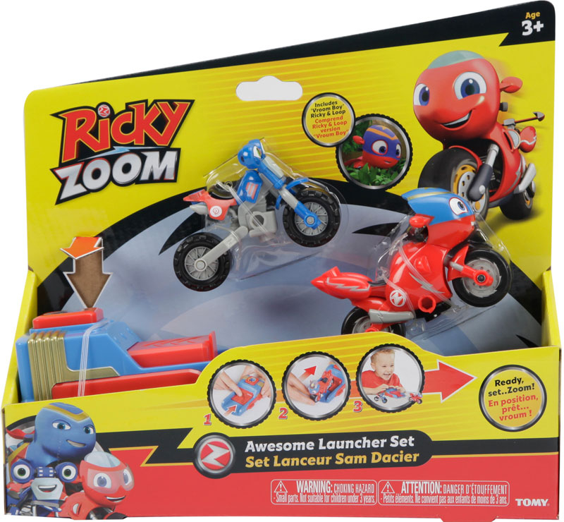 Wholesalers of Ricky Zoom Awesome Launcher Set toys