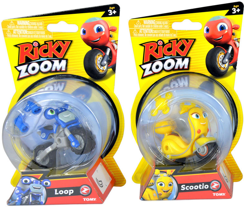 Wholesalers of Ricky Zoom Core Racers - Asst toys