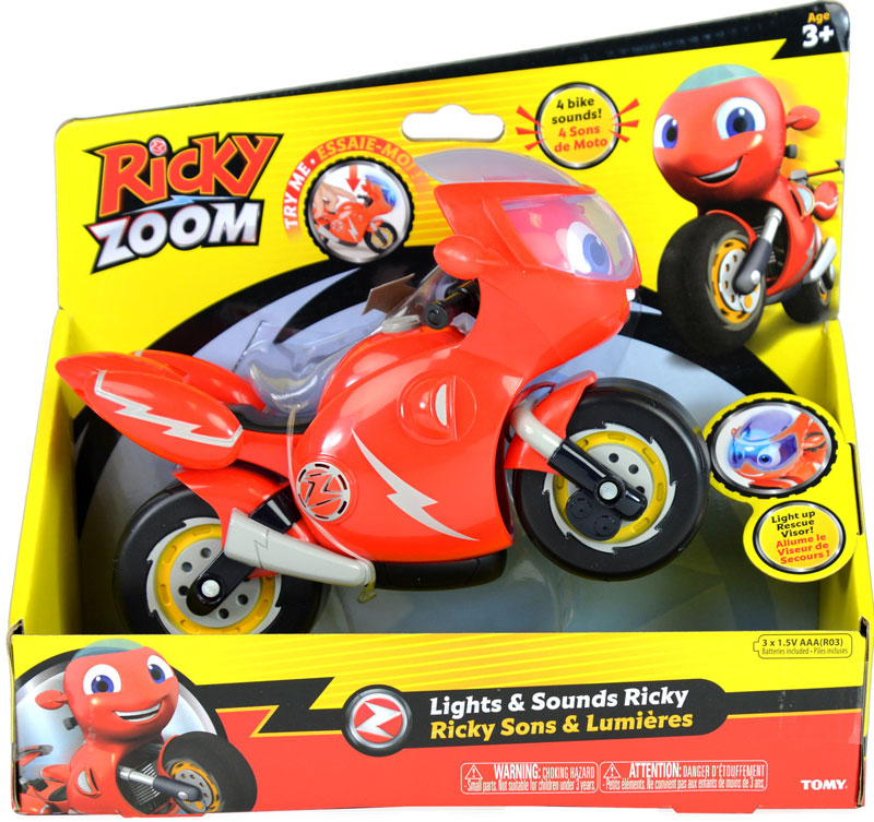 Wholesalers of Ricky Zoom Feature Figures toys